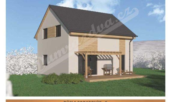 Dům s podkrovím C